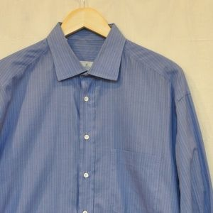 Ermenegildo Zegna Button Down Dress Shirt 16.5  42
